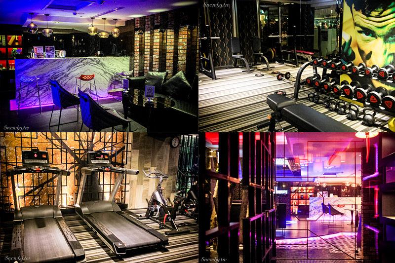 兆笙會館‧昇園餐廳‧Megasport健身中心