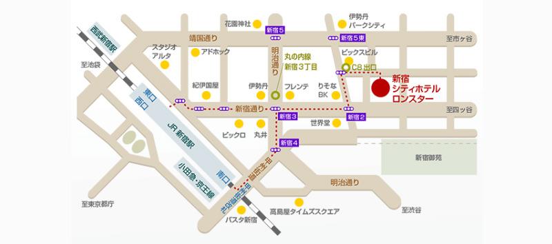 東京住宿,新宿隆斯達城市酒店,Lonestar,Shinjuku Cityhotel Lonestar,東京自由行