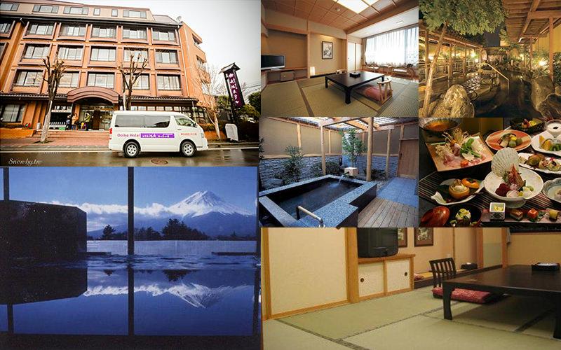 河口湖住宿,大池飯店悠樂別館,遠眺富士山,溫泉飯店,東京自由行,河口湖地圖