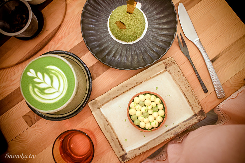 台北中山 | 木白甜點咖啡店.日式清新風味 (捷運行天宮站)