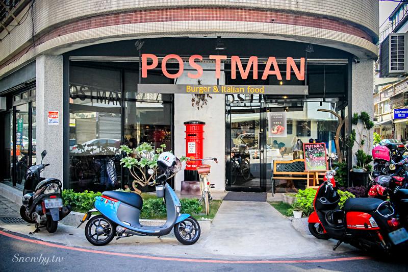 桃園中壢 | Postman-Burger & Italian Food.漢堡早午餐/下午茶/義式料理專賣店