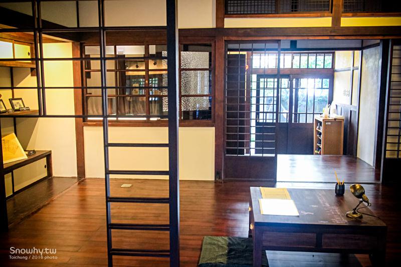 台中文學館,舊日式警察宿舍,台中文學公園,台中旅遊,台中美食