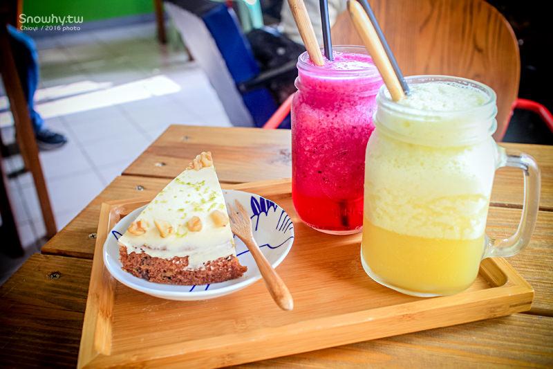 桃園中壢 | 甘田果舖.平價蔬果汁,老房復古氛圍咖啡甜點店