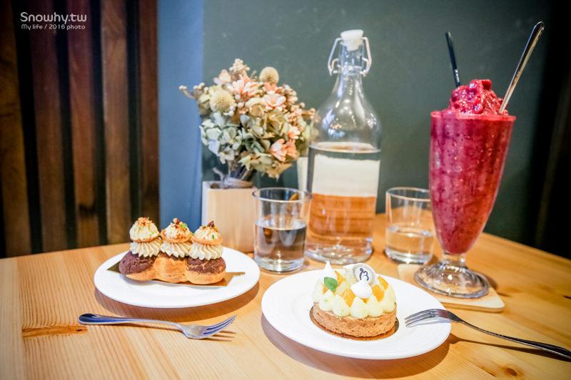 新竹竹北 | Bisou Bisou Pâtisserie café 珈豐露烘焙坊.每日手作法式甜點