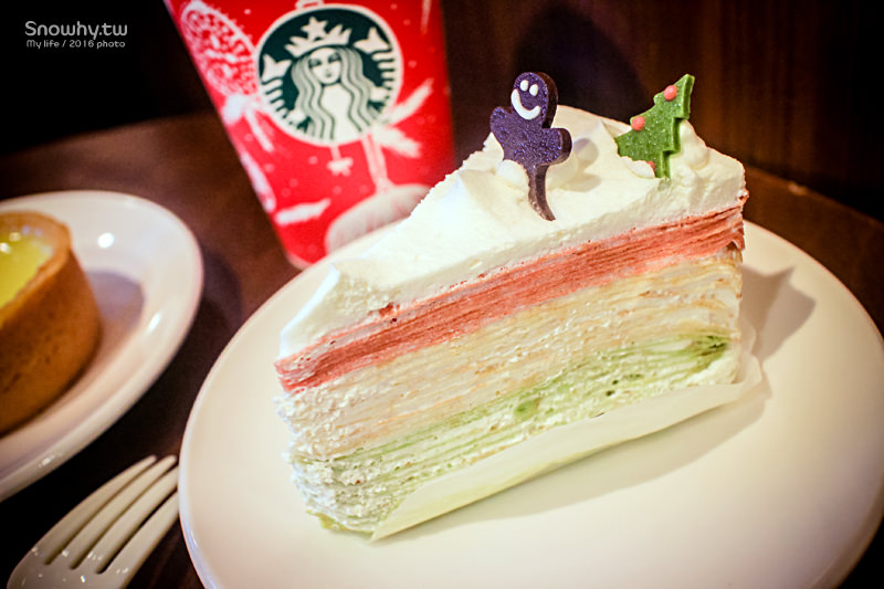 星巴克Starbucks全新耶誕紅杯、耶誕繽紛薄餅!迎接浪漫聖誕節