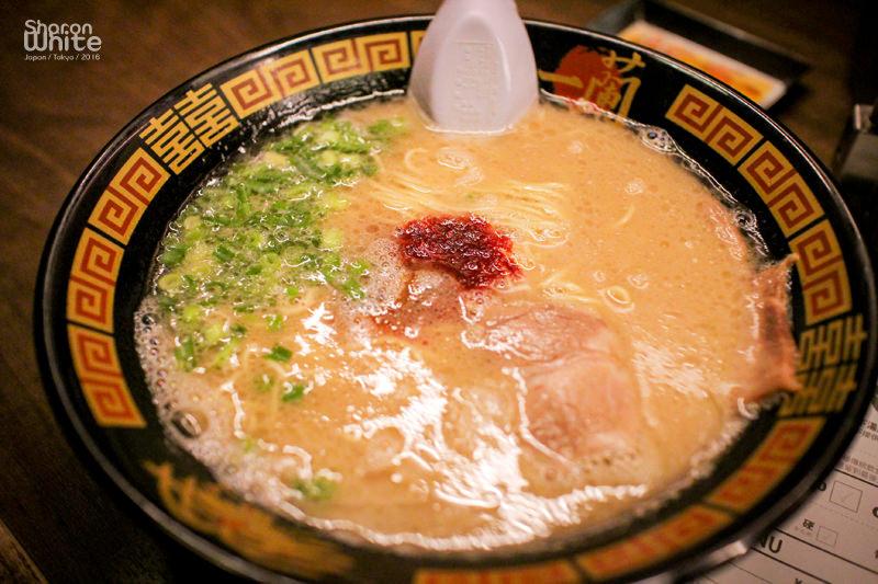 東京美食 | 傳說中的一蘭拉麵@吉祥寺店