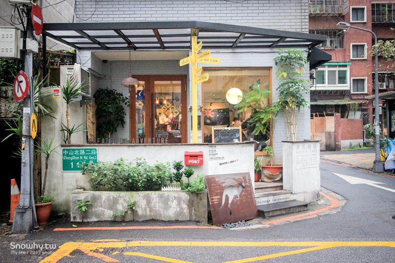台北中山 | Aussie Cafe 澳氏咖啡.店裡設有背包客專屬床位?!
