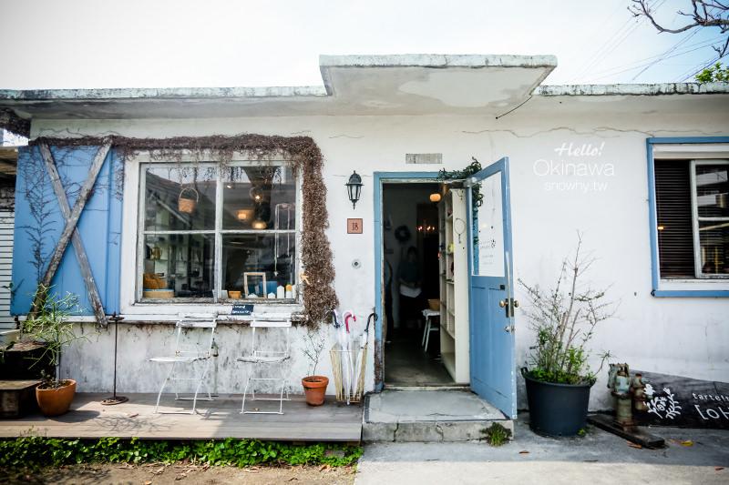 沖繩浦添 |  [oHacorte].港川外人住宅裡的美味水果塔專賣店