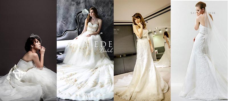 風格緍紗禮服白紗挑選小技巧.新娘手札 x 自助婚紗
