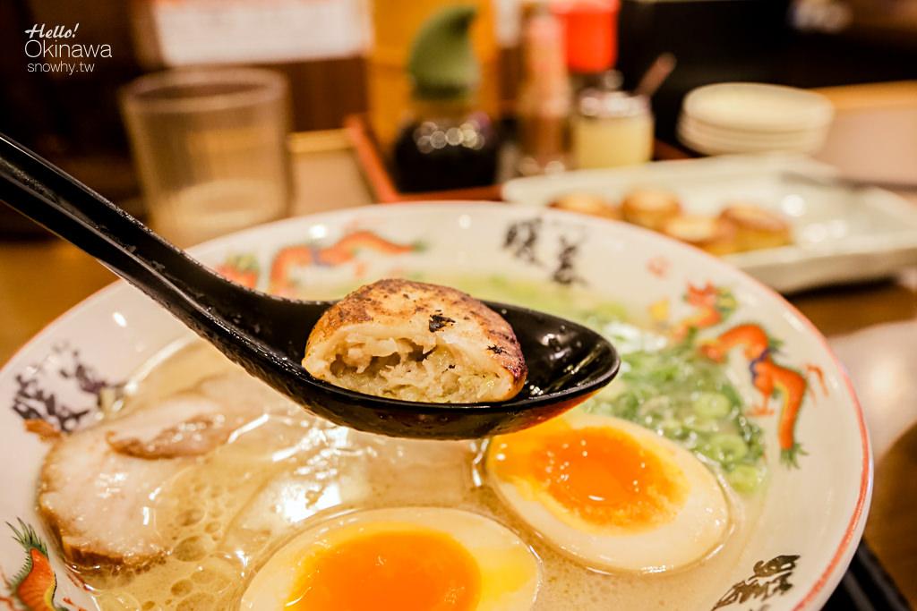 沖繩必吃暖慕拉麵,沖繩暖慕,沖繩必吃,擊敗一蘭,國際通美食,國際通必吃,沖繩美食