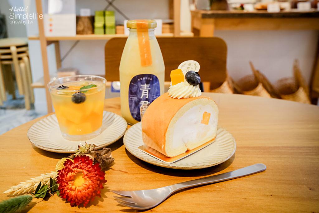 台北萬華巷弄創意甜點店 菓實日 結合台灣味的法式甜點 夏季芒果組合