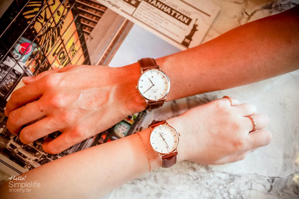 dw官網,dw折扣碼,dw手錶,DW讀者專屬折扣碼,snowhy,Daniel Wellington,瑞典設計,情侶對錶,85折