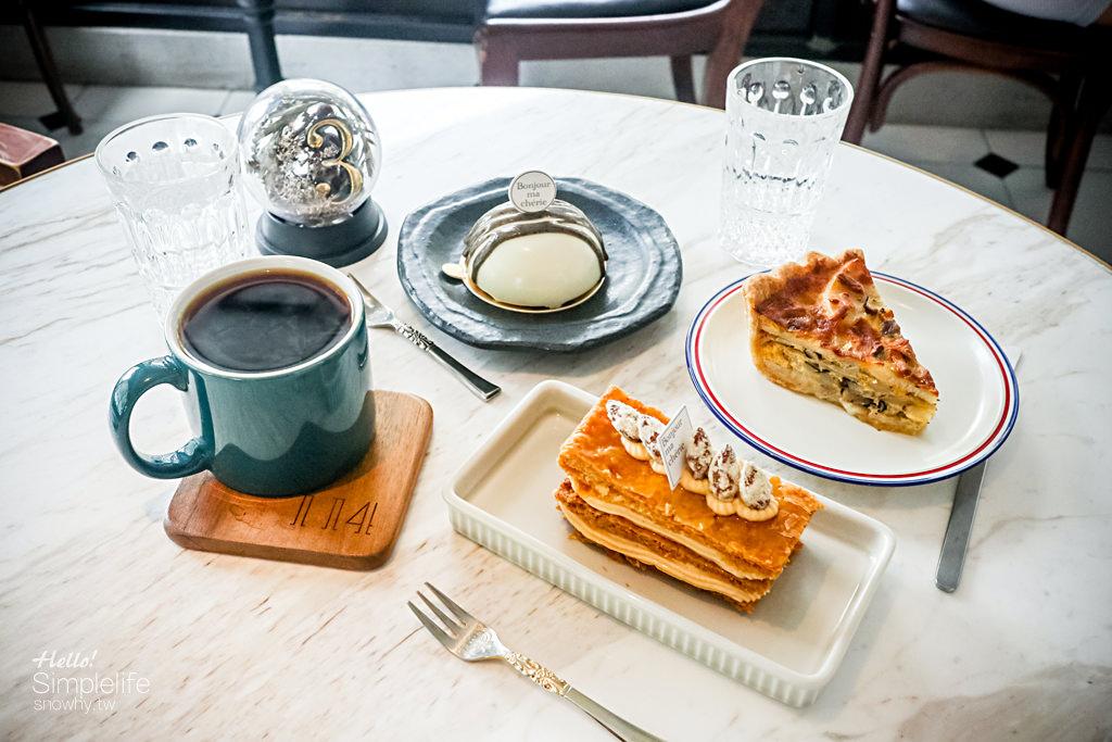 台北捷運忠孝復興.114 x Bonjour ma chérie 巷弄中的法式甜點遇上手沖咖啡