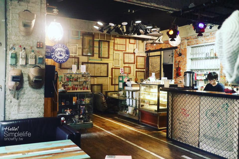 桃園楊梅 | 黑色公寓藝文咖啡.復古咖啡廳 x 展覽室 x 微畫廊