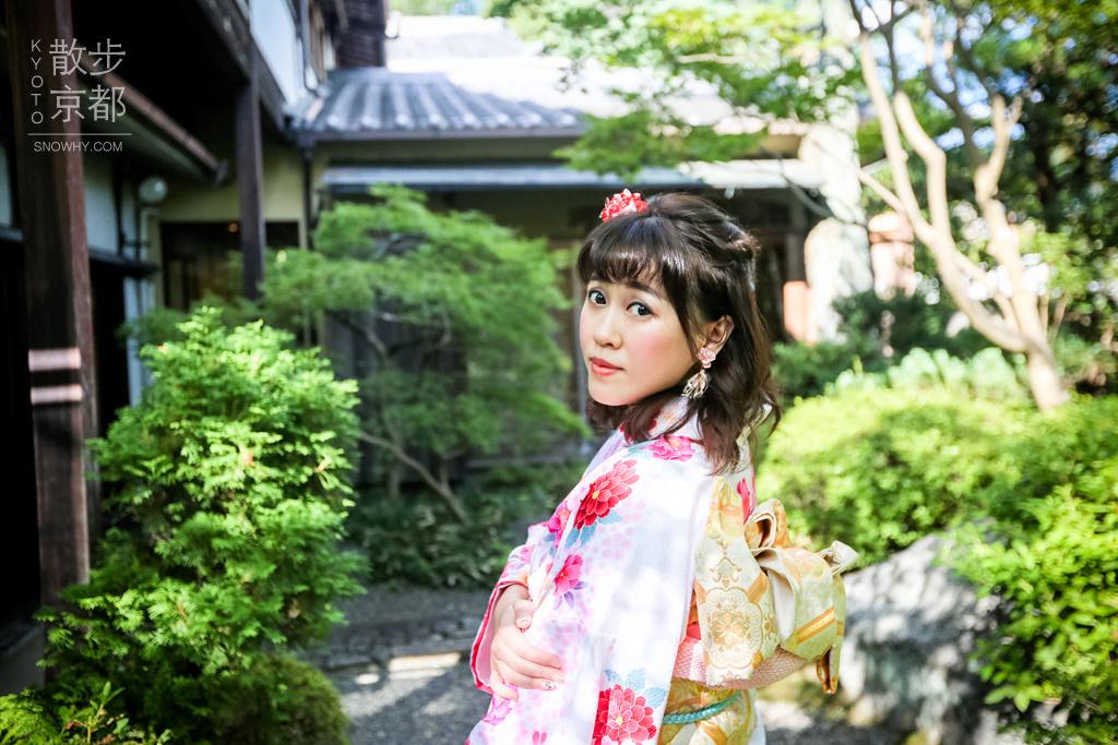 京都和服 | 櫻京和服體驗 華麗振袖/變換髮型/中文服務.女孩們的夢想 感受優雅氣息