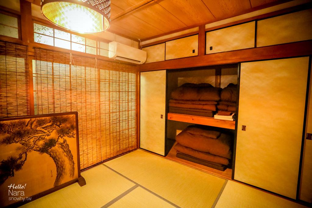 奈良住宿,神奈寐,kamunabi,溫馨日式老屋,背包客棧,平價住宿,奈良平價住宿,塌塌米大房,奈良景點
