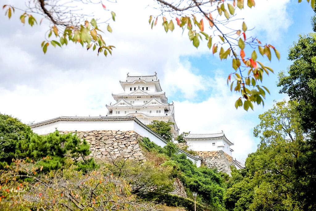 姬路城 世界文化遺產.日本百大名城中保存度最完整的城池!