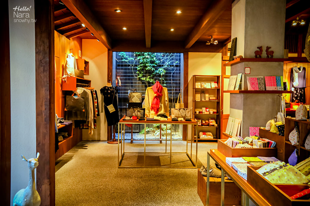 奈良雜貨 | 中川政七商店遊中川奈良本店.古都裡的百年老舖