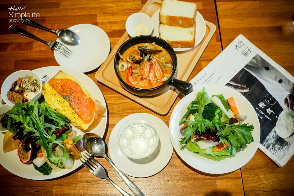 台北忠孝新生站,捷運站美食,光合箱子,Daylight,健康早午餐,工業風咖啡廳,華山店