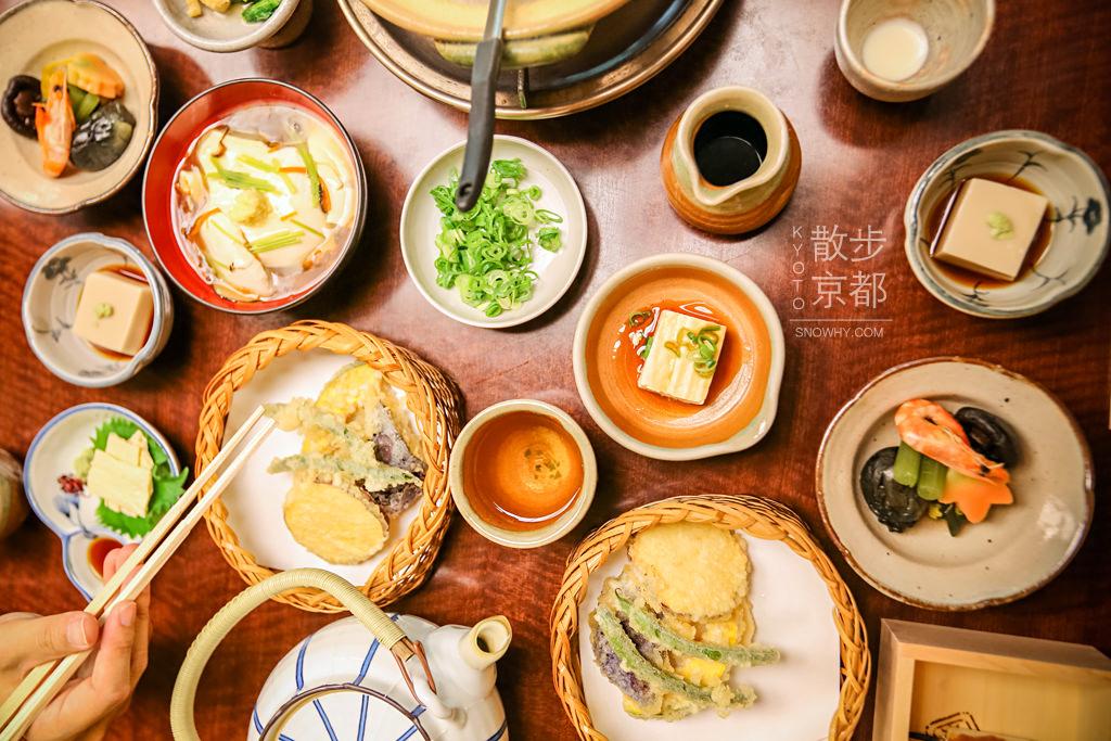 京都美食,南禪寺順正湯豆腐料理,湯豆腐,京都自由行,京都景點,南禪寺,順正