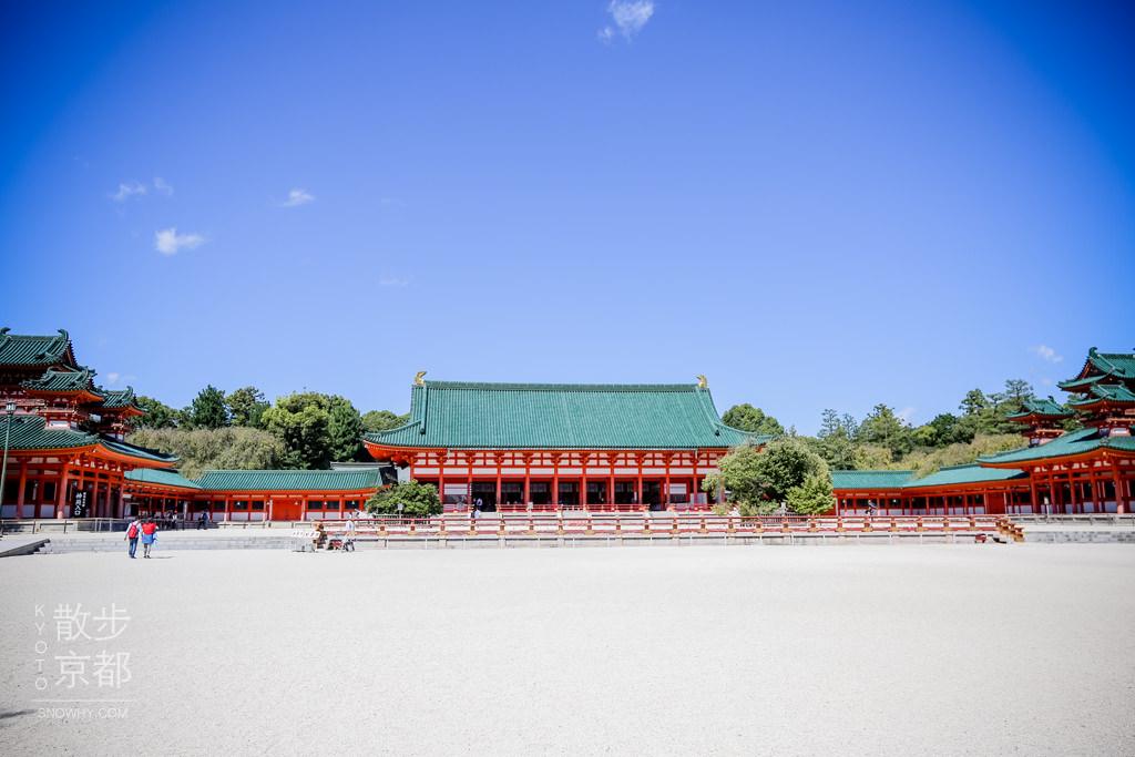 京都平安神宮,平安時代,大鳥居,京都景點,京都自由行,京都必去,京都平安神宮,京都市集