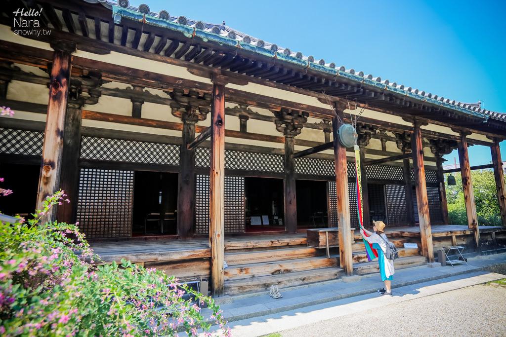 奈良世界遺產 元興寺.保有日本現存最古老之飛鳥時代瓦片屋簷!