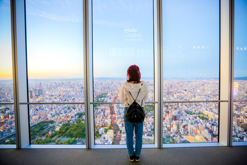 大阪 阿倍野HARUKAS 300展望台,日本第一高樓360度空中迴廊 美景盡收眼底