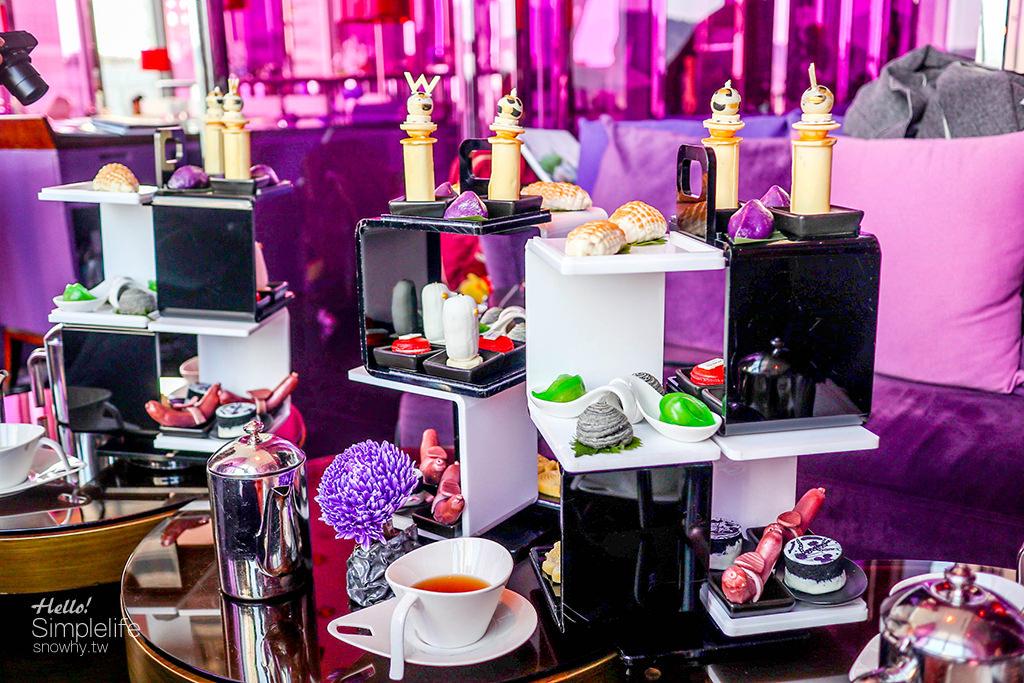 台北W Hotel ,雙人午茶,台北下午茶,捷運站美食,台北甜點,w hotel,Jaime Hayon亞米.海因的設計狂想