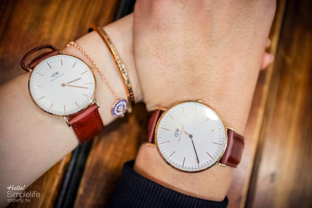 dw折扣碼,dw,dw手錶,DW專屬折扣碼,snowhy,Daniel Wellington,瑞典設計,情侶對錶,85折