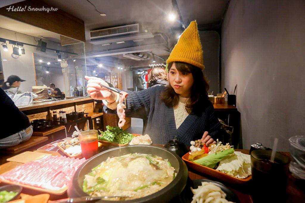 官也溫菜石頭火鍋專賣,台北士林,士林美食,士林火鍋, 爆炒香蔥、3倍激量肉盤,ig肉盤打卡