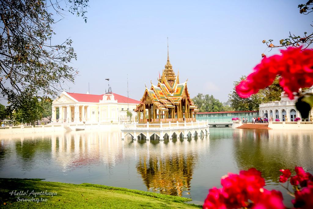 泰國大城 | 邦芭茵夏宮 Bang Pa-In Palace.泰國皇室最美行宮,多元建築風格!