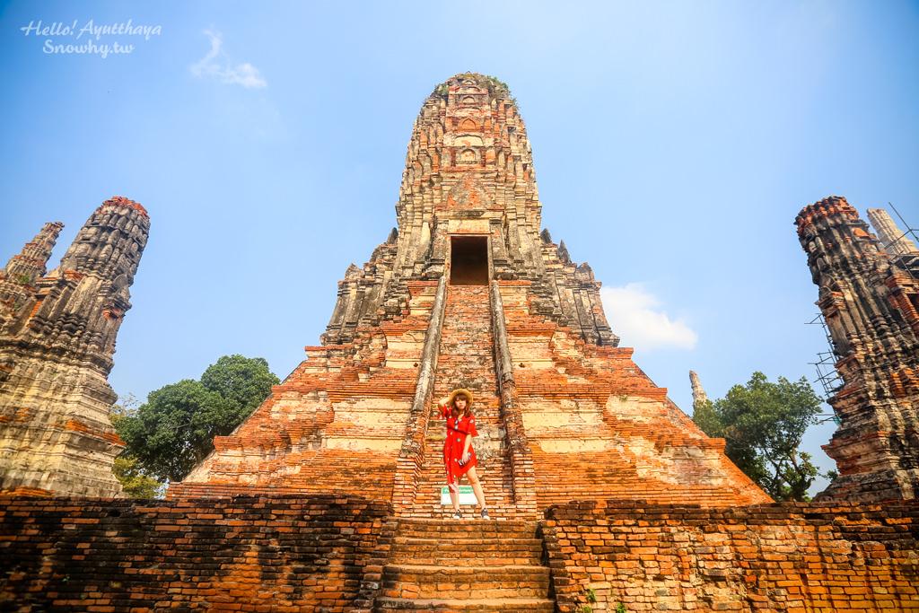 泰國大城,Wat Chaiwattjanaram,柴瓦塔那蘭寺,泰版小吳哥,大城遺址,大城包車,大城古蹟,大城景點