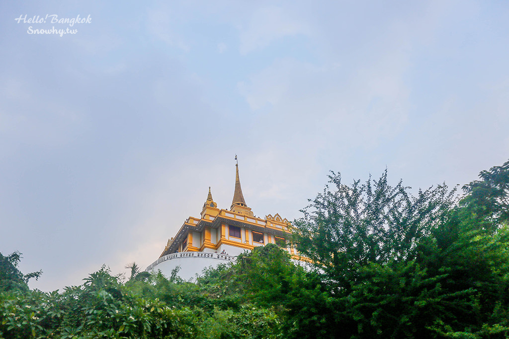 金山寺,曼谷市內最高的佛寺!舊城區必遊景點!