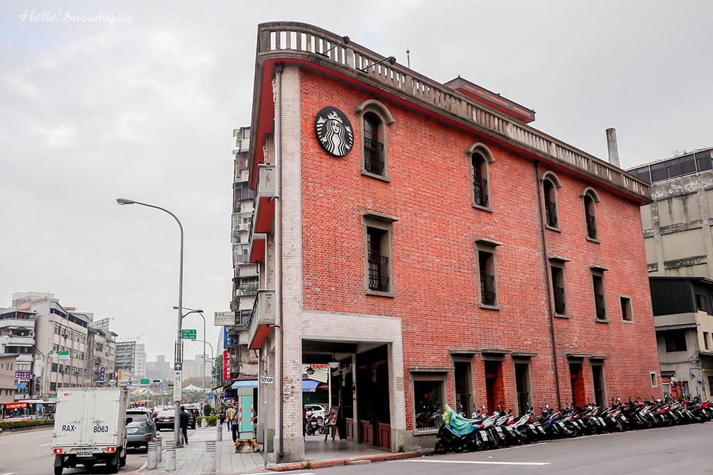 台北咖啡廳,星巴克艋舺門市,萬華林宅新,百年市定古蹟,老屋新力,萬華咖啡廳