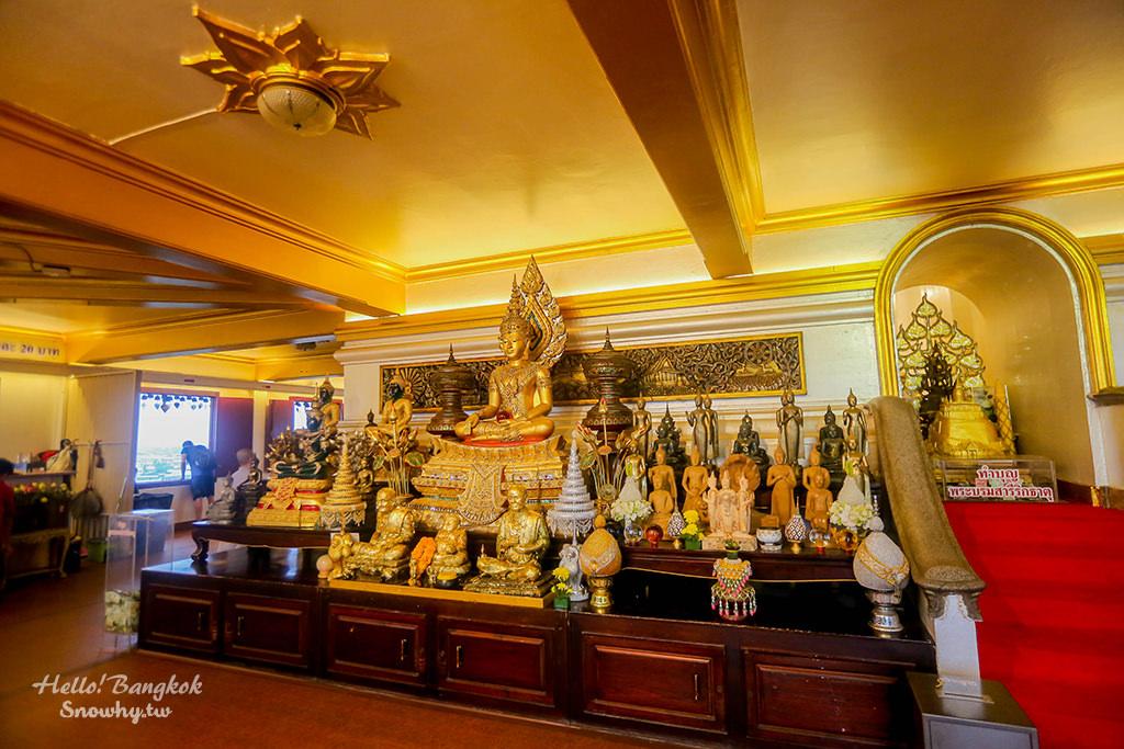 金山寺,曼谷最高的佛寺,舊城區景點,曼谷自由行
