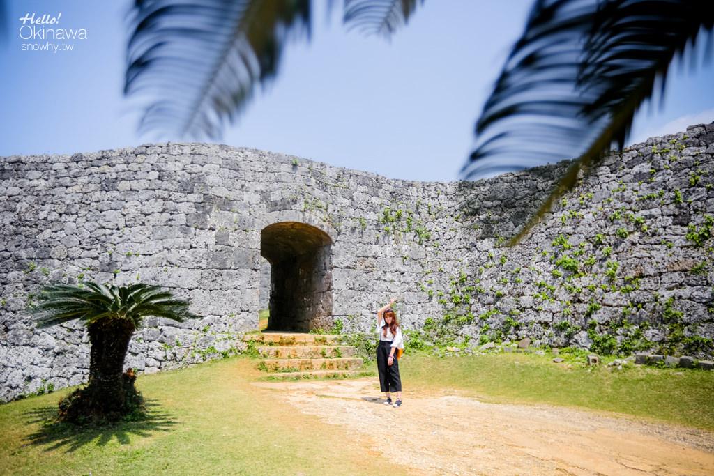 沖繩景點,座喜味城跡,世界文化遺產