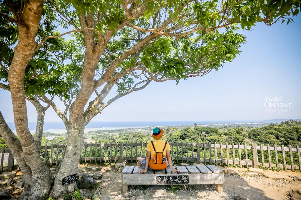 沖繩今歸仁城跡.世界文化遺產,三山時代的北山王國居城
