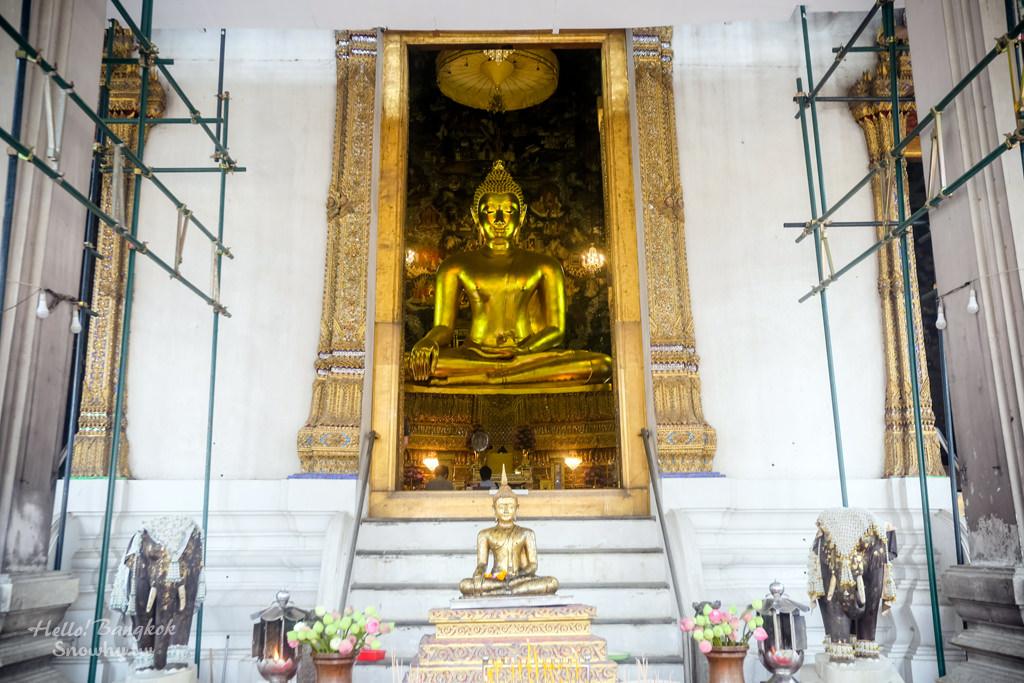 曼谷蘇泰寺,Wat Suthat Thep Wararam,วัดสุทัศนเทพวราราม,曼谷景點,曼谷寺廟,曼谷自由行