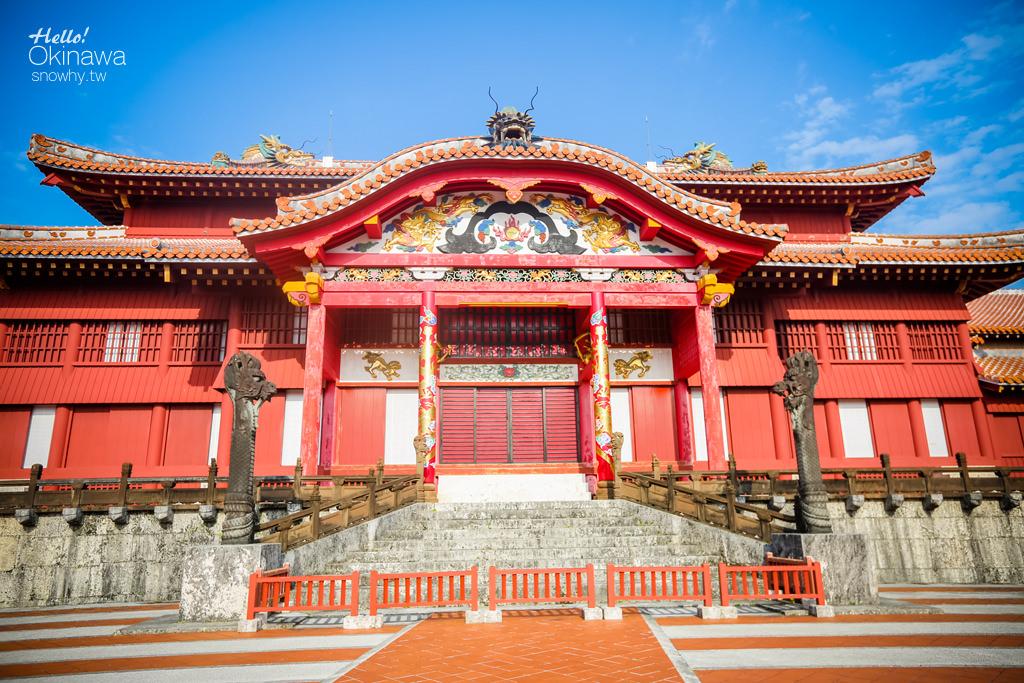 沖繩世界文化遺產.首里城,見證琉球王國榮枯興衰的國都