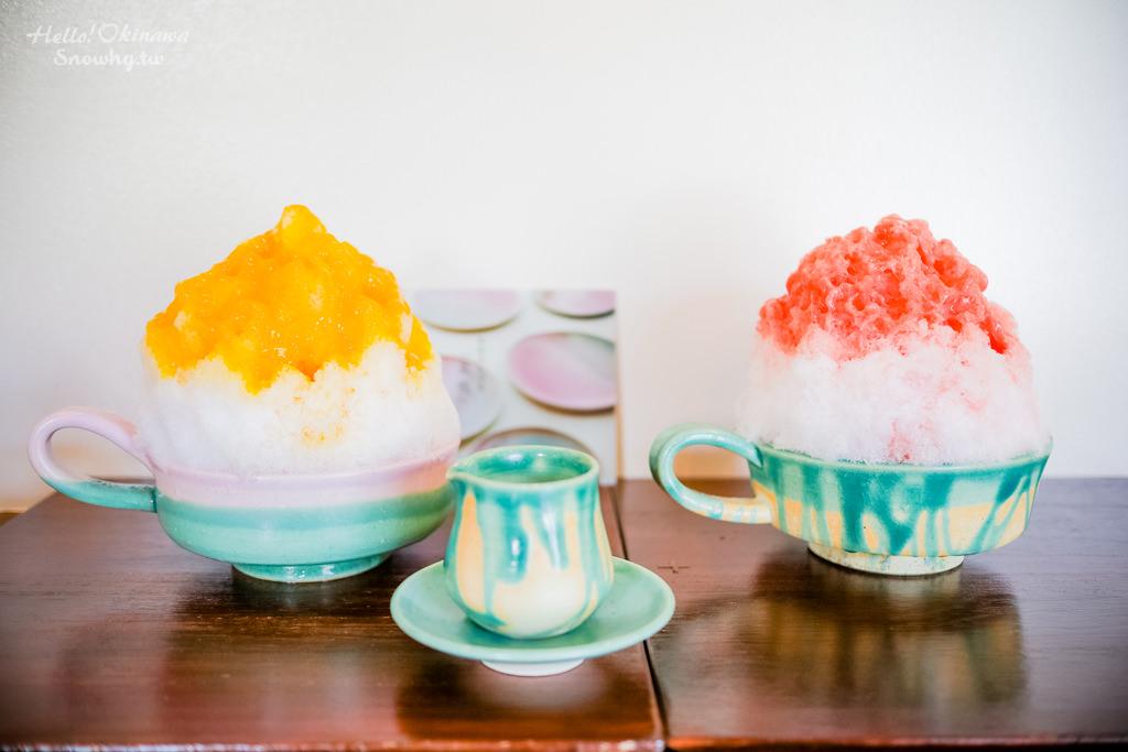 沖繩美食 | 瑠庵+島色.宮城島上的優雅陶藝品搭配雪花刨冰