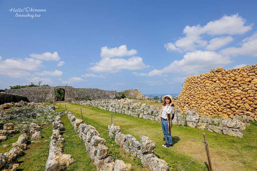 沖繩中城城跡,世界文化遺產,沖繩景點,沖繩自由行,沖繩旅遊