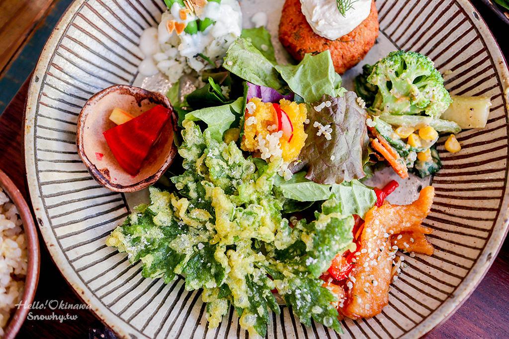 沖繩美食,那霸國際通,自然食とおやつmana,蔬菜餐廳,蔬食餐廳,咖啡廳