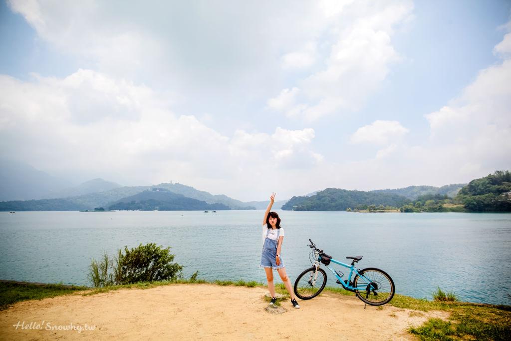 南投日月潭,最美的自行車道,水社碼頭,向山遊客中心