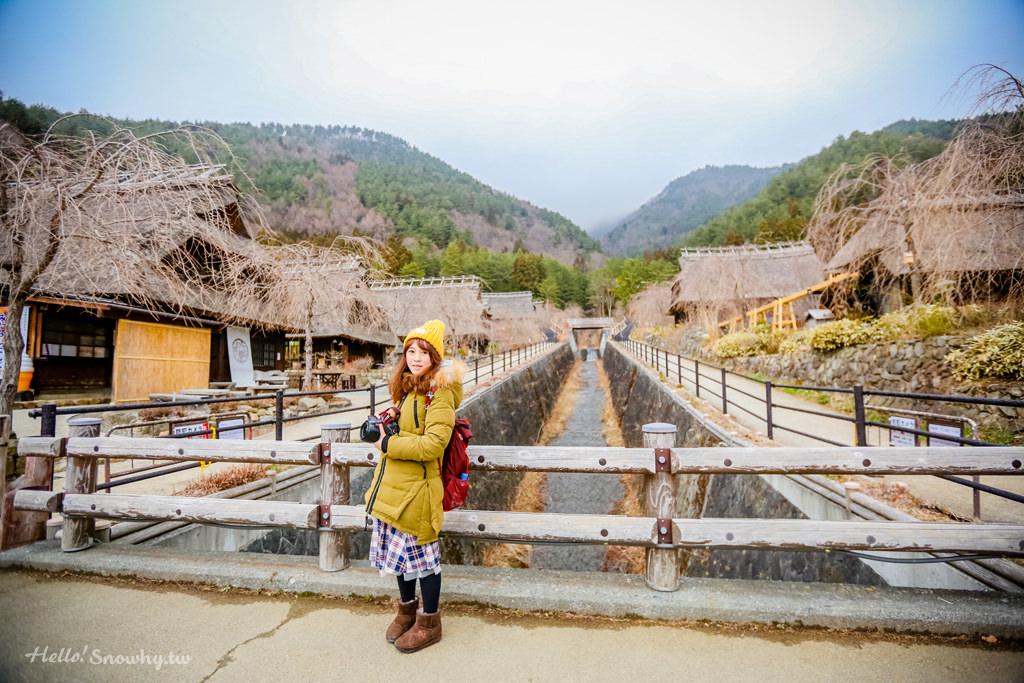 富士山 河口湖合掌村 │西湖療癒之鄉根場,山中的小村落(西湖いやしの里根場)