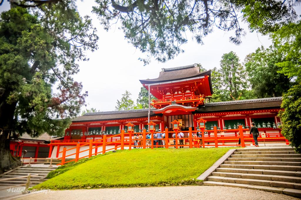 奈良 春日大社 | 奈良與鹿的起源.原始林中的世界文化遺產