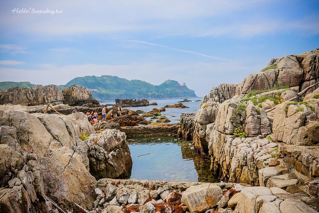 新北龍洞,天然祕境,台灣景點,戲水,浮潛,攀岩