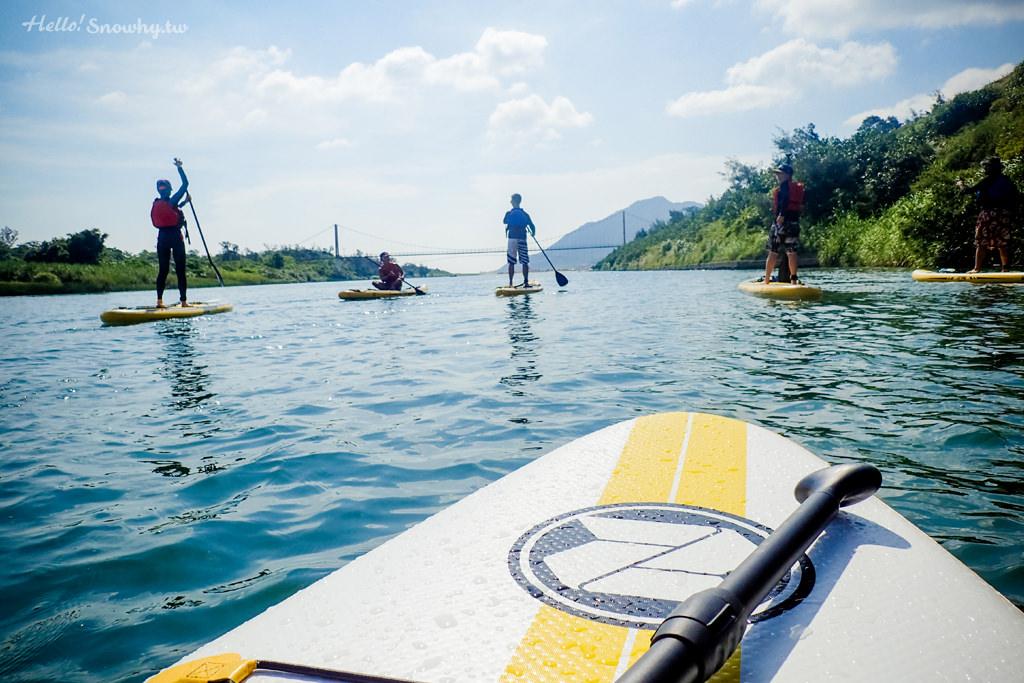 福隆雙溪河SUP初體驗,簡單易上手的初學者航線