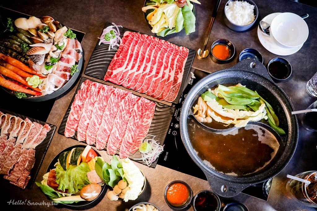 桃園 %Percent Shabu 頂級熟成肉火鍋.甜嫩度爆表肉片搭配夢幻用餐環境