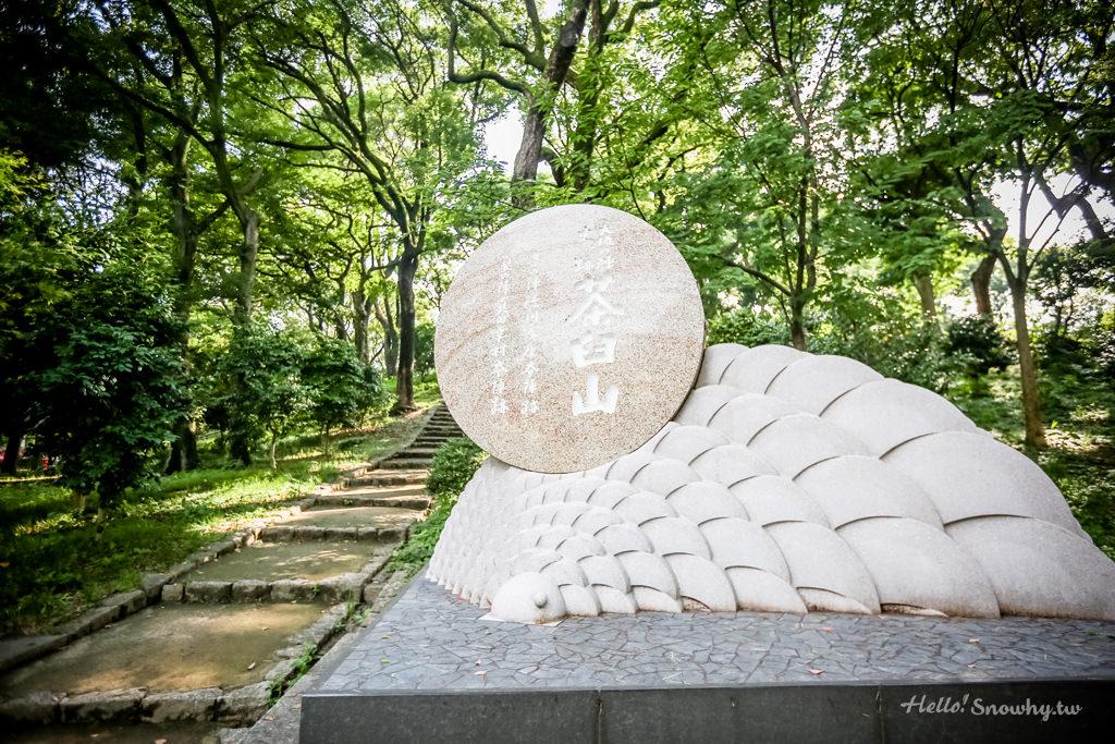 大阪天王寺公園之茶臼山│大坂冬、夏兩陣雙方大將的本陣,順遊堀越神社