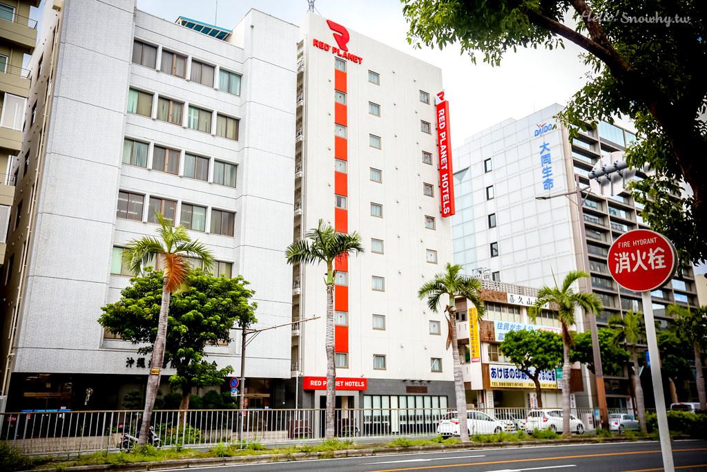 沖繩住宿,沖繩那霸紅色星球飯店,Red Planet,美榮橋站,國際通,平價商旅,沖繩平價住宿